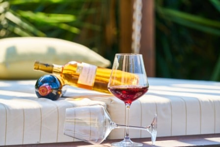 Honeymoon wine