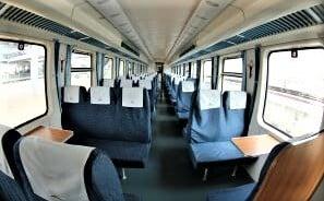 Second/economy Kenya SGR Train sitting arrangement