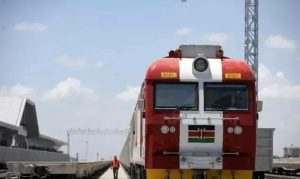 SGR Train Kenya