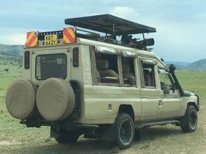 Tour safari vehicle